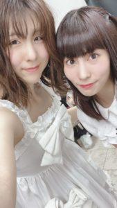 名古屋のアイドル応援少女、まりなとアリサ