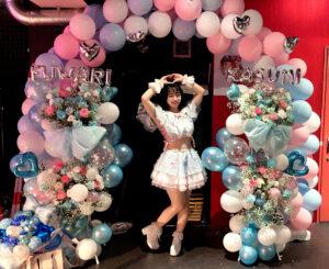応援少女、ふわりかすみ生誕祭2021