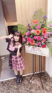 名古屋のアイドル、応援少女、松阪アリサ