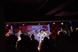応援少女のライブ